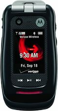 NEW Motorola Barrage V860 - Black (Verizon) Page Plus 3G Rugged Flip Cell Phone