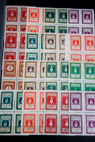 Croatia Revenue Stamps Early Mostly Mint on Stock Pages Rare