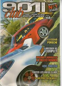 901 CLUB 1 PORSCHE 911 CARRERA RS 2.7 993 RS 3.8 964 RS 3.6 911 SPEEDSTER