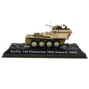 1/72 Diecast Sd.Kfz.140 Flakpanzer 38 (t) Gepard-1944 Modèle de Char Allemand