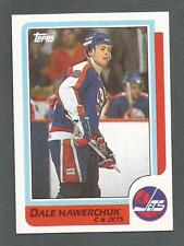 1986-87 Topps Hockey Dale Hawerchuk #74 Winnipeg Jets NM/MT