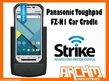 STRIKE ALPHA PANASONIC TOUGHPAD FZ-N1 CAR CRADLE - BUILT-IN FAST CHARGER SECURE