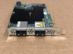 Lenovo IBM Avago LSI 12G 4x SFF-8644 MiniSAS HD HBA X3550 X3650 M5 X6 9300-16e
