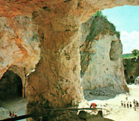 Ruggles Mine in the Sky Isinglass Mountain Caves Grafton NH Vintage Postcard