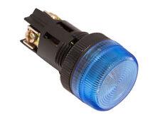 NPL-22 ATI Blue LED Pilot Indicator Light 22mm 12V DC Replaceable Lamp