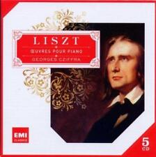 Georges Cziffra - Liszt: Oeuvres Pour Piano (NEW 5CD)