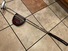 "New listing Used Odyssey Golf Backstryke Blade Putter Center Shaft 35"""
