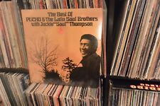 Best Of Pucho & Latin Soul Bros. Rare Latin Jazz/Funk LP ST 1969 Factory Sealed