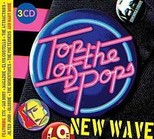 TOP OF THE POPS NEW WAVE 3 CD SET - VARIOUS ARTISTS (Released July 7th 2017)