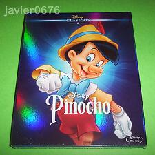 PINOCHO CLASICO DISNEY NUMERO 2 - BLU-RAY NUEVO Y PRECINTADO SLIPCOVER