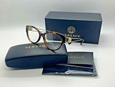 Versace Women Tortoise New Eyeglasses MOD 3254A 5148 52  Plastic