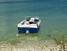 motorboot mit Trailer Länge 5,5 m Breite 1,96   125 Ps Tolle Liegeflächen