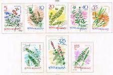 Romania Flora Flowers Plants stamps 1966
