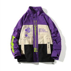 mnNeon Genesis Evangelion Shogoki EVA-01 00 02 Work Coat Fashion Cosplay Jacket
