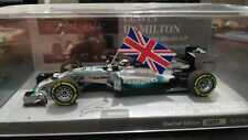 MINICHAMPS 410140544 F1 1/43 MERCEDES W05 LEWIS HAMILTON 2014 WORLD CHAMPION