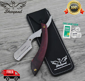 Professional Straight Cut Throat Shaving Razor Barber Salon Safety Razor