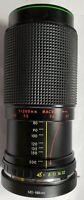 Hanimex MC 80-200mm f/4.5 C-Macro Zoom Lens Minolta or Nikon w/ MD Nikon adapter