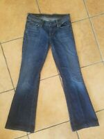 Citizens of Humanity Women's Low Rise Flare Stretch Jeans Ingrid #002 Sz 29 x 31
