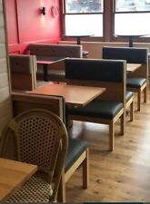 More details for warings grey restaurant booth bench seating. used for 6 months. beautiful condit