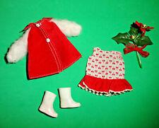 Vintage Tutti * European Exclusive season clothing lot red n white 1974