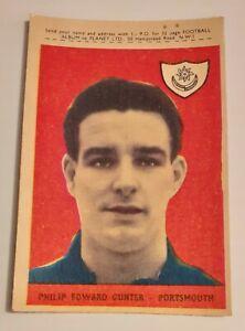 DC Thomson ~ stars du football ~ 1957 ~ présenté avec le Hotspur ~ Choisissez vos cartes