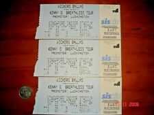 Singapore, 1993 KENNY G BREATHLESS TOUR, 3 Used Concert Tickets