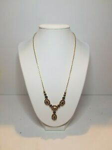 Collier OR 750°°° & Grenat