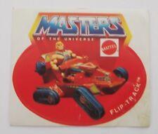 Aufkleber MATTEL FLIP-TRACK MotU Masters of the Universe Sticker 80er