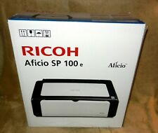 Ricoh Aficio SP 100e Black & White Laser Printer