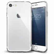 Coque silicone souple iPhone 7 8 S7+ S8+ transparente Housse Etui Antichocs