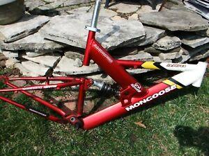 Used Mongoose Inferno Aluminum Mountain Bike Suspension Frame