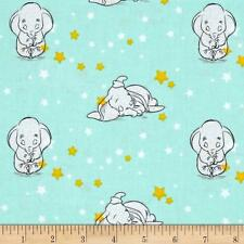 Disney DUMBO Fabric Fat Quarter Cotton Craft Quilting Sweet Dreams Licensed KIDS