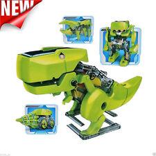 4 in 1 Solar DIY Educational Solar Robot Drilling Machine Dinosaur Insect Kit