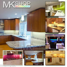 5M 300 LED Cool White Strip Kitchen Cabinet Under Counter Mood Light Adhesive UK