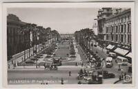 Egypt postcard - Alexandria, Midan Khedive Isroail - RP (A10)