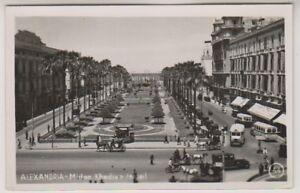 Ägypten Postkarte - Alexandria, Midan Khedive Isroail - (A10)