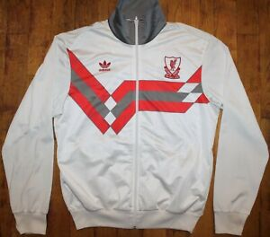 """Vintage 1990 Adidas Liverpool """"CANDY"""" Away Jacket - 2006 Re-issue"""