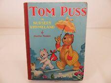 Marten Toonder -Tom Puss In Nursery Rhymeland - 1948 - Marks & Spencer - Vintage