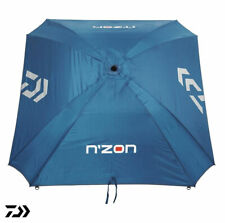 "New Daiwa N'ZON 125cm / 50"" Fishing Brolly / Umbrella Round or Square flat back"