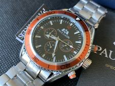 Paulareis Military Calendar Men Sport Mechanical Automatic Watch 🇬🇧 boxed