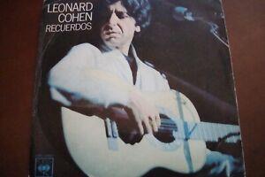 Leonard Cohen raro singolo stampa spagnola