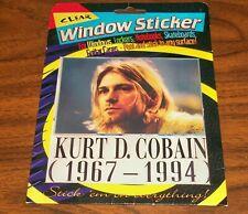 KURT COBAIN 1967-1994 Window Sticker, Decal
