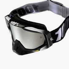 NEW 100% Mx Racecraft ABYSS Mirror Tinted Motocross Dirt Bike Jetski Goggles