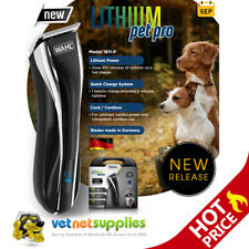 Wahl Lithium Pet Pro Cord/Cordless Animal Hair Grooming Clipper Kit Pet Dog
