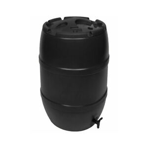 120L Black Standard Water Butt Barrel ONLY - Recycle Rainwater and Save Money!