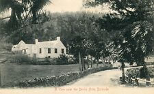 Bermuda - House near Devils Hole old postcard