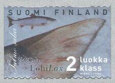Finland 1999 MNH - Salmon Fish Fishing Flies - Hologram Stamp - Jan 27, 1999