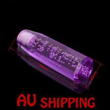 Octagon Acrylic Crystal Air Bubble Manual Shift Knob shifter 5.9INCH 15CM JDM