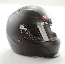 RACEQUIP PRO15 RACE HELMET FULL FACE FLAT BLACK SNELL SA2015 P/N#273993 MEDIUM