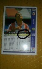 ERROR en nombre Ficha de la Liga este 04/05 Diego Pablo Simeone Atletico Madrid